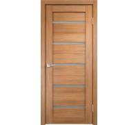 Межкомнатная дверь Веллдорис Duplex остекленная Дуб золотой