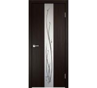 Межкомнатная дверь Веллдорис Smart Z2 Венге зеркало