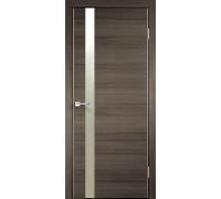 Межкомнатная дверь Веллдорис TECHNO Z1 Дуб серый поперечный