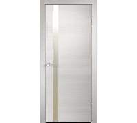 Межкомнатная дверь Веллдорис TECHNO Z1 Дуб белый поперечный
