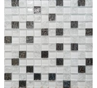AltaCera Декор Mosaic Glass White 300х300