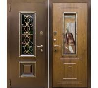 Входная дверь Логика Антик (Ажур)