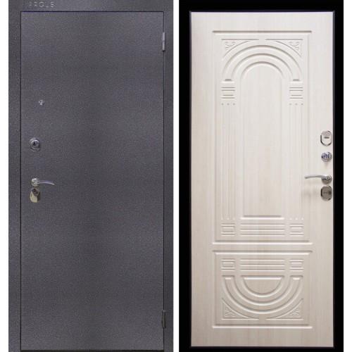 Входная дверь Аргус Термо Композит Серебро Ларче светлый