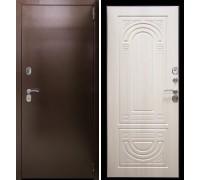 Входная дверь Аргус Термо Композит беленый дуб
