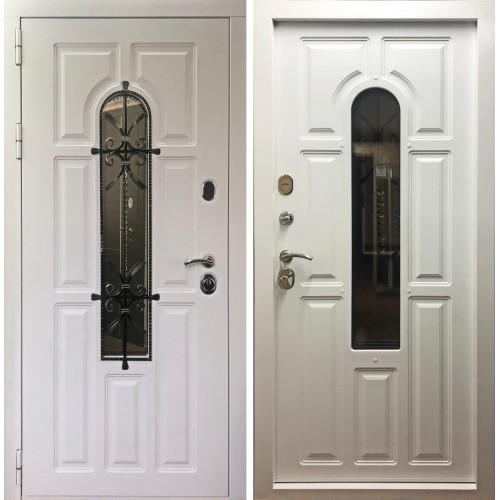 Входная дверь Дверной континент Лион Белый