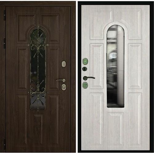 Входная дверь Дверной континент Лион Альберо браш