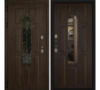 Входная дверь Дверной континент Лион Орех