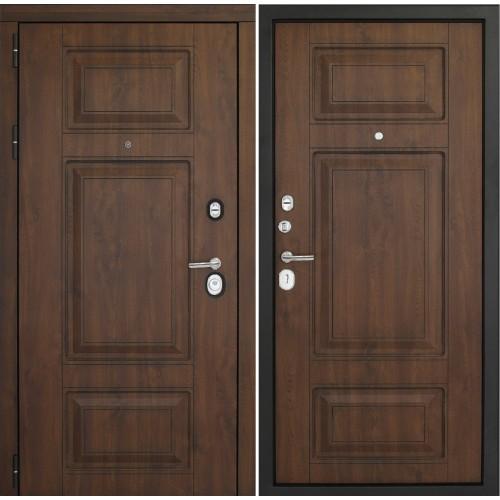 Входная дверь Дверной континент Порта Темный орех