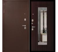 Входная дверь Дверной континент Рубикон Зеркало Венге