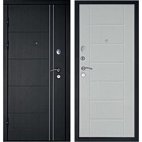 Входная дверь Дверной континент Тепло-люкс Беленый дуб