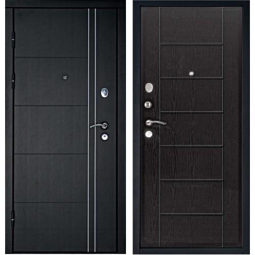 Входная дверь Дверной континент Тепло-люкс Венге