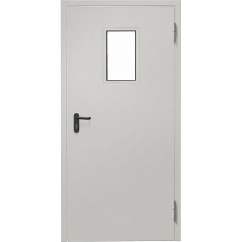 Противопожарная дверь Промет EI-60 с остеклением