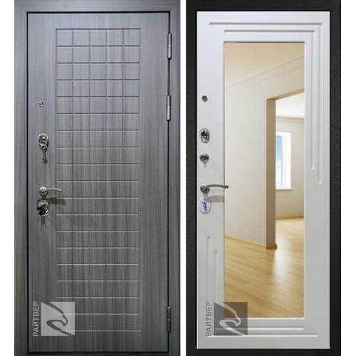Входная дверь Райтвер С7 зеркало