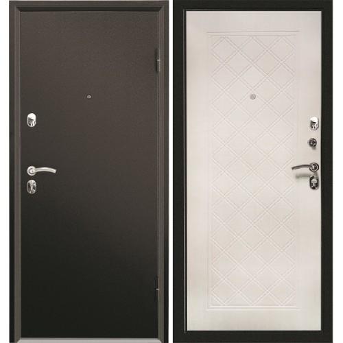 Входная дверь Промет Форте Симпл Беленый дуб