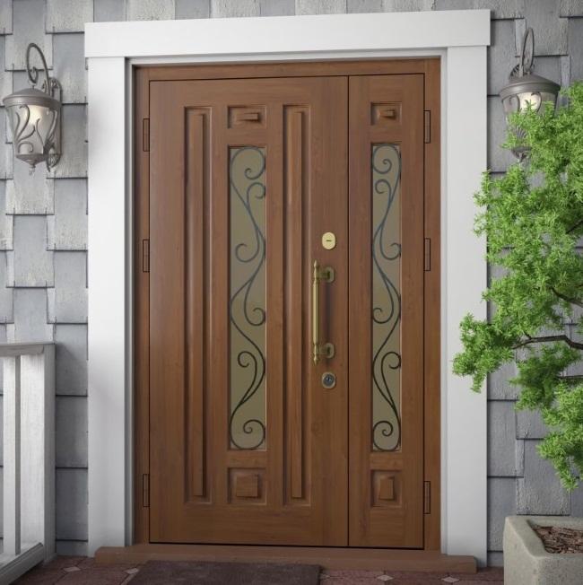 Купить входную дверь со стеклопакетом