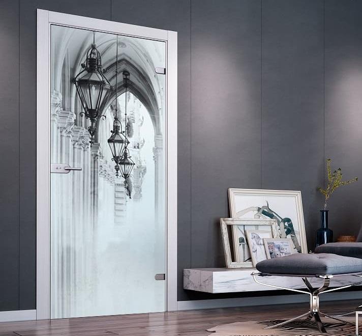 Купить стеклянные межкомнатные двери