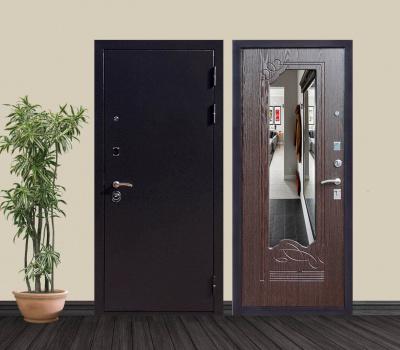 Трехконтурные металлические двери